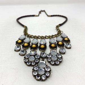 Vintage Yellow Statement Necklace | 3 for $20